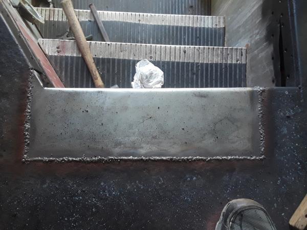 Top stair/floor repair
