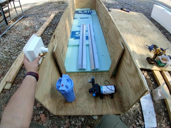 water pump mock up