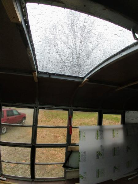 skylight inside