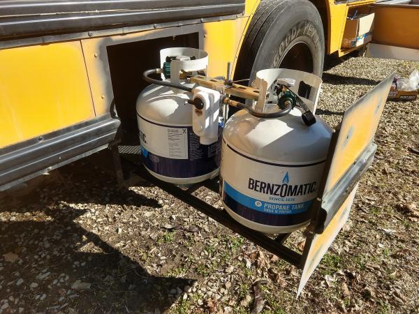 propane mount full extension
