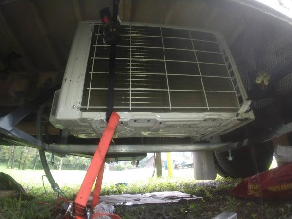 mini split installed