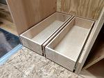 drawers under refrigerator