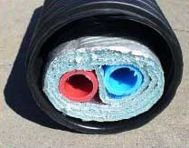 8F504419 D482 4C84 85E3 1EF30DC48BB3 we use insulated pex pipe for our water lines as well as our hydronic heat. We also use it on our solar hydronic clothes dryers