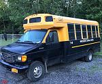 2004 Ford E450-Whitesboro CSD    Available in this online only auction is one school bus.    2004 Ford E450 Mini  ...