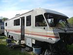 Scrapping former RVs
