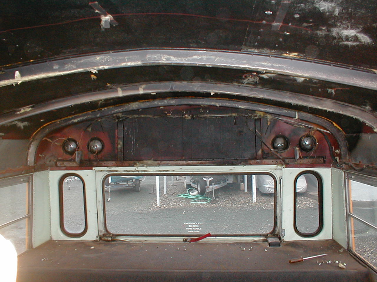 Cap rear removed