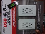 Outlets with USB