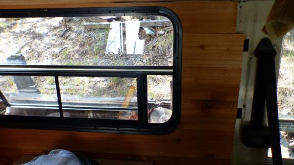 P1180384 I'm using red cedar through out the interior.