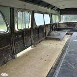 Dropping The Floor On Our 1961 GM New Look / Fishbowl Bus - TheLills.com