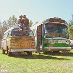 Bus Buddies - Our 1978 VW Bus & Our 1961 GM New Look / Fishbowl Bus - Instagram: @thelillslife