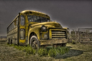 Old Bus Pic