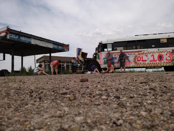 Broke down on Route 66 (no, not really)