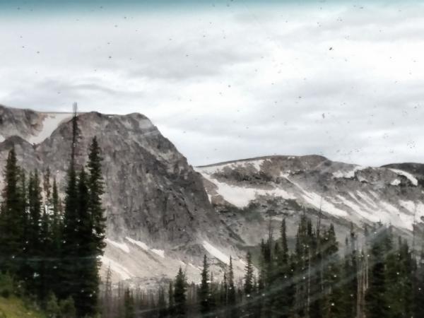 Snowy Mountain Pass, Wyoming