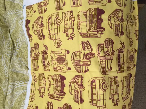 Cool fabric I found for a couple pillows.