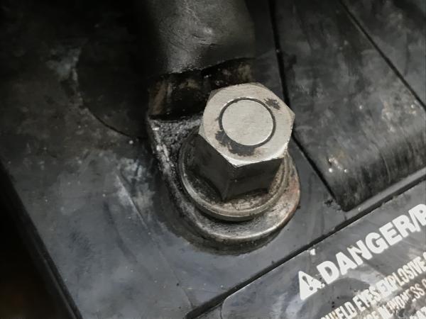 Neg battery terminal