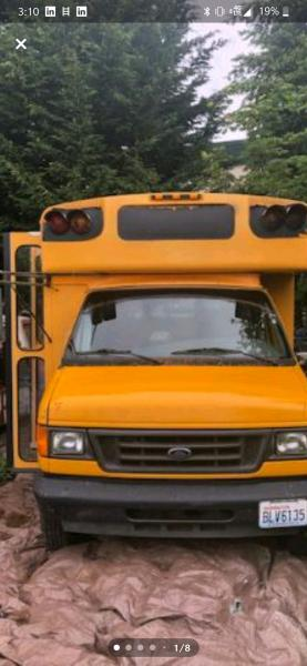 This bus was a great deal. now I need to make it a home!