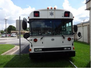 White prison bus!
