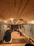Ceiling is on it's way