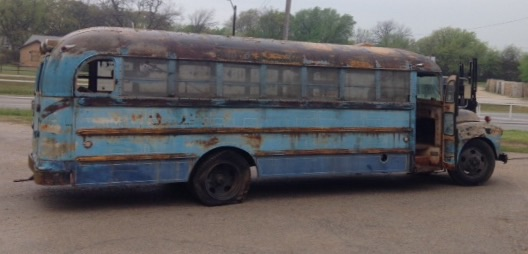 1954 Chevrolet bus with a Ward body
