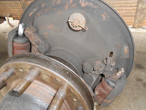 back brakes