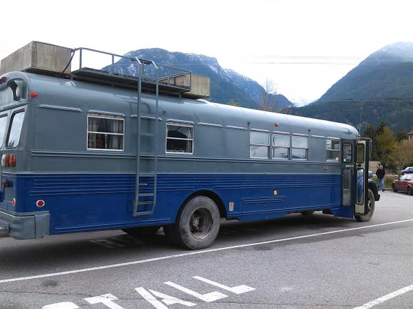 Here she is in Squamish BC