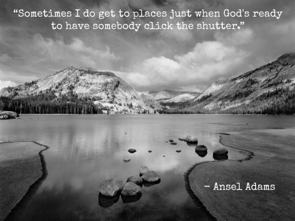Love Ansel's work.