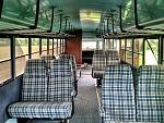 The interior, with the eight seats it came with (presumably original)