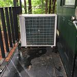 2 ton ac mini split system works very well but i do not like it on my back porch which is the only place it would fit, so i am building a new split...