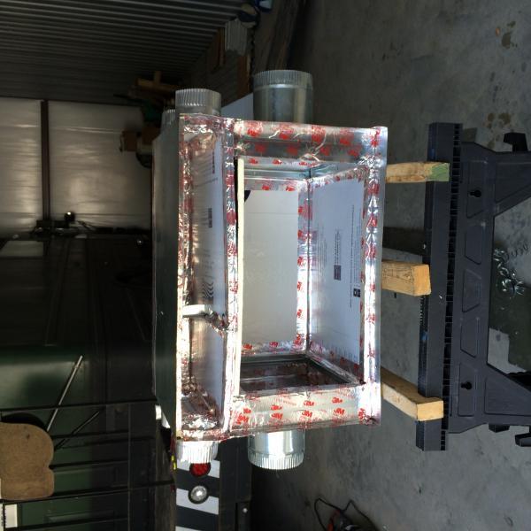 the ac plunum before the evaporator installed