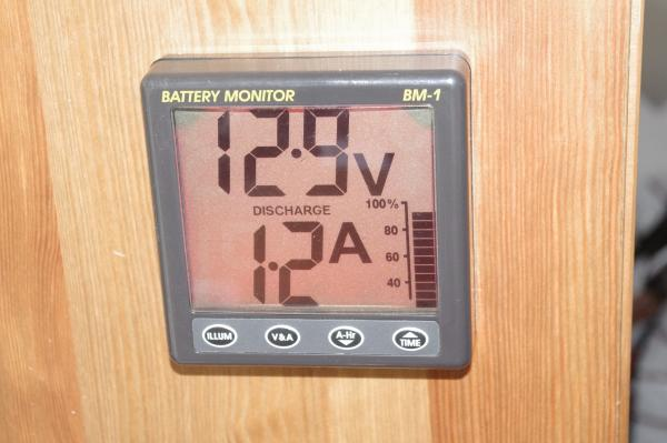 The NASA battery condition meter.