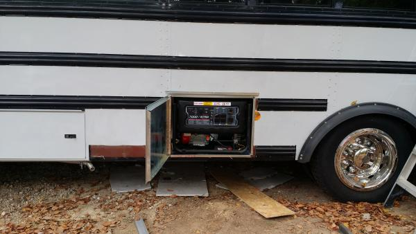 Generator storage