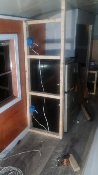 Refrigerator framing