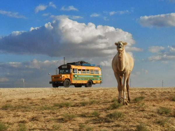 Somewhere in Kazakhstan
