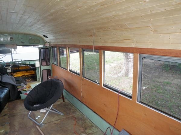 Still needs window sills and trim