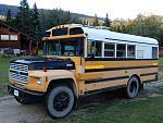 Seymore- the camperized short bus