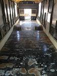 Sanded floor
