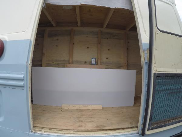Water tank and back storage