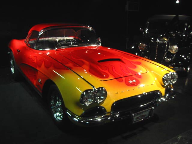 1962 Corvette Red Roadster DIAGMAIN62USE 001