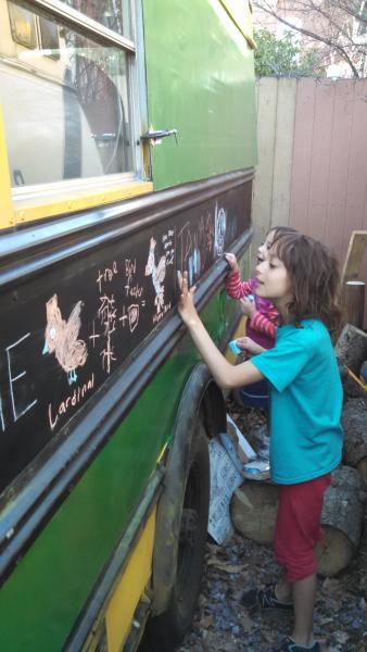20160420 E350 Corbeil Kids drawing