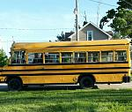 Our bus, the day we purchased her for $1800 in Farmer City, Illinois May 12th, 2015...