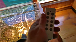 This is one of two identical remote controls for our lights. It operates 5 different areas for lighting including the bath, art studio,...