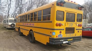 1992 Ward Senator Handicapped bus