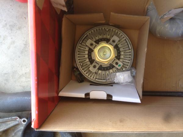 A fan cluth.